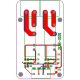 SainSmart 2 Channel SSR-2F Solid State Relay 3V-32V 5A For AVR DSP Arduino Mega Uno R3