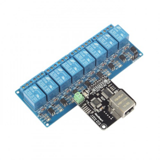 SainSmart Web TCP/IP 10A 8-Ch Relay Remote Control Kit