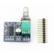 Mini PAM8403 5V Digital Amplifier Board USB Power Supply
