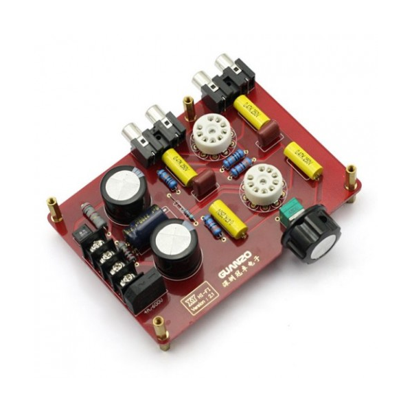SainSmart Assembled 6N3 Hifi Buffer Audio Tube Headphone Amplifier Pre-amp  Kit with Transformer