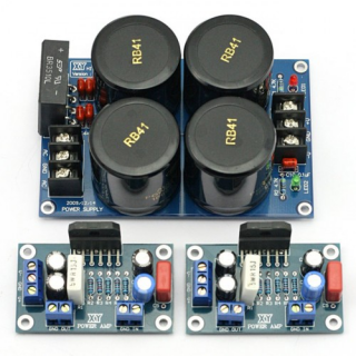 LM3886TF Amplifier AMP+Power Supply Rectifier Filter Completed AUDIO Board Kit