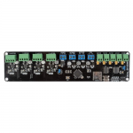 Melzi with heatsinks, Reprap 3D Printer controller board, ATMEGA1284p, A4988