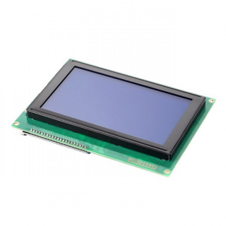 SainSmart 240X128 TTL Serial Matrix Graphic LCD Display Module Blue