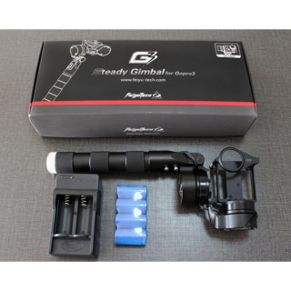 Feiyu Tech G3 2-Axis Steady Handheld Gimbal Gopro Hero 3 3+ With Camera Mount