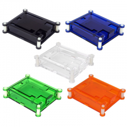 Clear Acrylic Box Enclosure Gloss Transparent Case Box for Arduino UNO R3