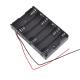 Battery holder case -  6xAA - Arduino plug