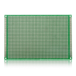 80*120mm Double-Side Prototype Board PCB, FR-4 Glass Fiber