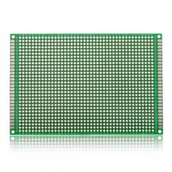 Prototype board - Double sided - FR-4 Glass Fiber - 80x120 mm