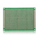 50*70mm Double-Side Prototype Board PCB, FR-4 Glass Fiber