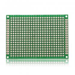 Prototype board - Double sided - FR-4 Glass Fiber - 50x70 mm