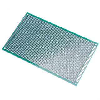 Prototype board - Double sided - FR-4 Glass Fiber - 90x150 mm