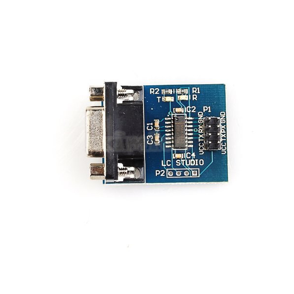 SP3232 MAX232 Arduino New Serial RS232 Serial Port to TTL Converter Module