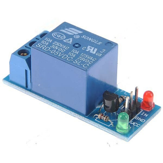DC 5V 1-Channel high Level Trigger Relay Module