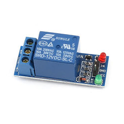 DC 12V 1-Channel High Level Trigger Relay Module