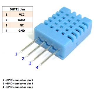 Humidity & Temperature Sensor - DHT11