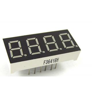 LED display - 4-digit - 7-segment