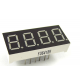 LED display - 4-digit - 7-segment