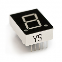 LED display - 1-digit - 7-segment