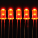 5mm Diffused Red LED