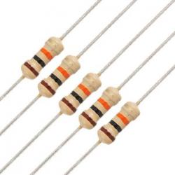 10K ohm 1/4W Carbon Film resistor
