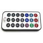 IR Infrared remote control with battery