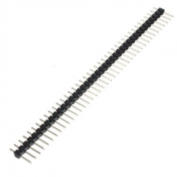 1x40 Pin 2.54 mm Single Row Pin Header Strip