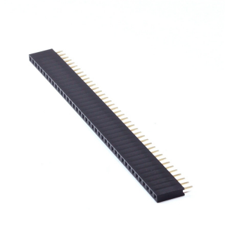 1x40 Pin 2.54 mm Single Row Female Pin Header