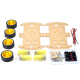4-wheel Robot Smart Car Chassis Kits car for Arduino Car