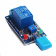 Moisture-sensitive switch relay module