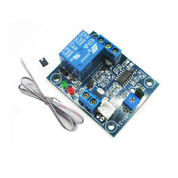 12V normally open type trigger delay relay vibration alarm module