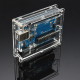 ATMEGA328P-PU UNO R3 Enclosure Transparent Case Clear For Arduino