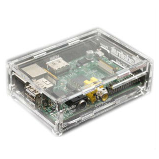 Raspberry PI 2 B+ Square Case Transparent