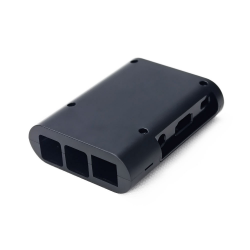 Raspberry PI 2 B+ Oval Case Black