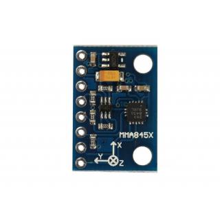 GY-45 MMA8451 module - digital triaxial accelerometer module -  precision inclination module
