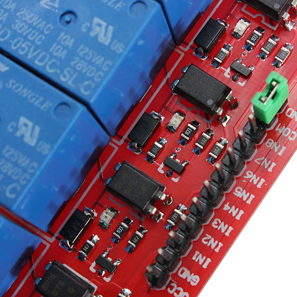 8-Channel 5V 12V Relay Module Board for Arduino