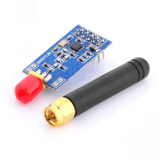 CC1101 wireless module (CC1100 upgraded version of the high-precision external parameters)