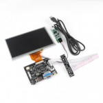 7 Inch TFT Touch Screen LCD Monitor for Raspberry Pi+Driver Board HDMI VGA 2AV