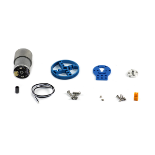 37mm DC Motor Robot Pack - Blue