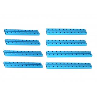 MakeBlock - Medium Beam 0824 Robot Pack-Blue