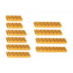 MakeBlock - Kratki nosač 0824 Robot Pack - Zlatni