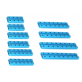 MakeBlock - Kratki nosač 0824 Robot Pack - Plavi