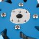 Makeblock - 100mm Left Mecanum Wheel with 4mm Shaft Connector