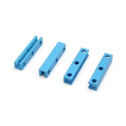 Makeblock - Beam0808-040-A-Blue (4-Pack)
