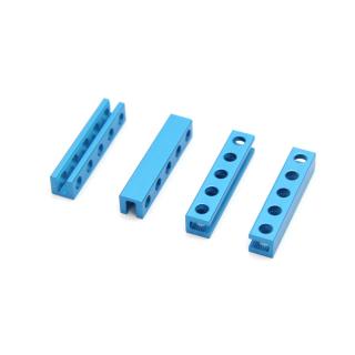 Makeblock - Beam0808-040-B-Blue (4-Pack)