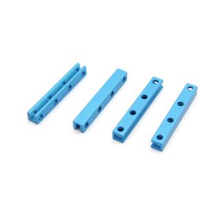 Makeblock - Beam0808-056-Blue (4-Pack)