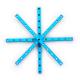 Makeblock - Beam0808-152-Blue (4-Pack)