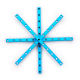Makeblock - Nosač 0808-152-Plavi (4-kom)