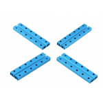 Makeblock -  Beam0824-080-Blue (4-Pack)