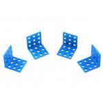 MakeBlock - Bracket 3x3-Blue (4-Pack)