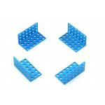 MakeBlock - Bracket 3x6-Blue (4-Pack)